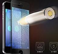 Schaden Schutz 0,3mm dünnen 2.5d 9h gehärtetem Glas für iphone 5 / 5c (5 Stück)