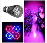 5W E26/E27 Focos LED MR16 5 LED de Alta Potencia 500 lm Morado AC 85-265 V