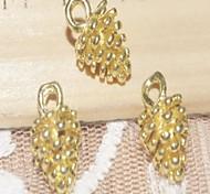 moda pigna in lega d'argento accessorio fascino (3pcs) (più colori)