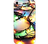 padrão de luz colorida de volta caso para iphone 6