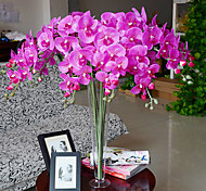 Purple PU Emulational Phalaenopsis