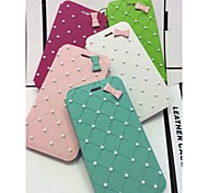 Monroe Pearl Bowknot Mobile Phone Holster for iPhone 6(Assorted Colors)