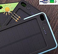 4500mAh Portable Solar Charge External Battery for iPhone 6S/6 Plus/Samsung S4/5 and Others