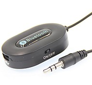 3,5 mm adaptador de audio Bluetooth v3.0 receptor de música Bluetooth inalámbrico