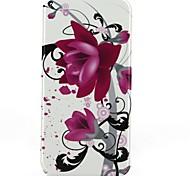 abrir e flor para baixo padrão de telefone de proteção shell caso de corpo inteiro para iphone 6 mais