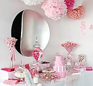 6 Inch Tissue Paper Pom Poms Wedding Party Decor Craft Paper Flowers Wedding(Set of 4)