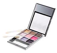 9 Paleta de Sombras de Ojos Seco Paleta de sombra de ojos Polvo Normal