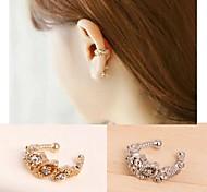 todo-fósforo brilla clips para las orejas diamante 1pc