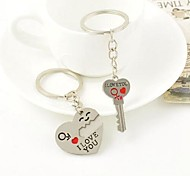 Heart Shape Keychain Set for Valentines'day