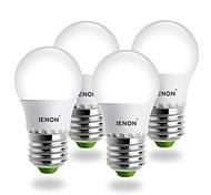 E26/E27 LED Kugelbirnen G45 SMD 240-270 lm Kühles Weiß AC 100-240 V 4 Stück