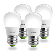 IENON® 4pcs S14 E27 3W 240-270LM 3000K Warm White Light  Pear Shaped LED Ceramic Blub(AC100-240V)