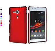 Pajiatu Hard Mobile Phone Back Cover Case Shell for Sony Xperia SP M35h (Assorted Colors)