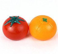 Orange + Tomato Style Vent Toy - Orange + Red(Pair)