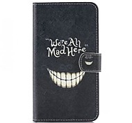 Evil Laugh  Pattern PU Leather Case  for LG G3