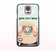 personalizzato phone case - telefono cassa del metallo di disegno per la galassia mini s5