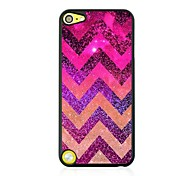 Ripple Leather Vein Pattern Hard Case for iPod touch 5