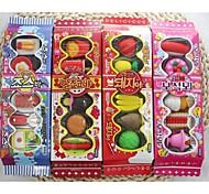 cajas de galletas goma de borrar (1 juego de color al azar)