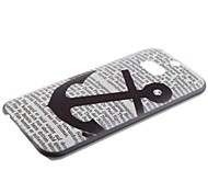 Für HTC Hülle Muster Hülle Rückseitenabdeckung Hülle Anker Hart PC HTC