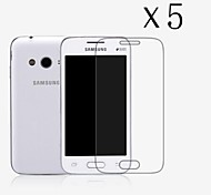 [5-Pack] High Transparency LCD Crystal Clear Screen Protector with Cleaning Cloth forSamsung Galaxy Ace4 NXT/G313H