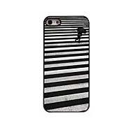 Walking Pattern Aluminum Hard Case for iPhone 5/5S