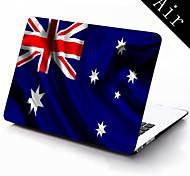 Australien Flagge Design Ganzkörper-Schutz-Kunststoffgehäuse für 11-Zoll / 13 Zoll neue Mac Book Luft