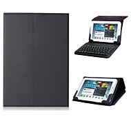 "Universal 7""-8"" Faux Leather Flip Case with Built-in Bluetooth Keyboard for iPad mini and Others(Assorted Color)"