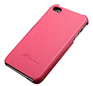 Lychee Genuine Leather Case with Genuine Leather Gift Box for iphone 5/5s