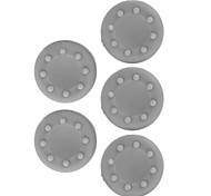 xbox 360 / xbox 360 xbox un juego cubierta delgada / de silicona protección controlador (gris, 5 piezas)