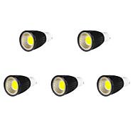9W GU10 Focos LED MR16 9 COB 700-750 lm Blanco Fresco AC 85-265 V 5 piezas