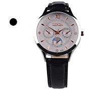 montre-bracelet montre de mode vie résistant à la fonction de calendrier ld-670 (couleurs assorties) de l'eau des hommes