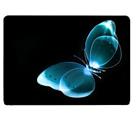 Blue Butterfly Design Full-Body Protective Plastic Case for 11-inch/13-inch New Mac Book Air