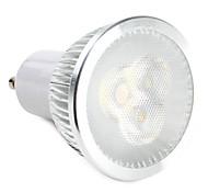 ZDM ™ 6W GU10 Светодиодный прожектор 3 высокой мощности привело 310 лм теплый белый / натуральный белый 220-240 В переменного тока