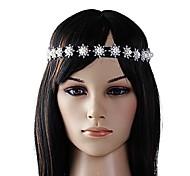 Pearl Diamond Flower Headbands