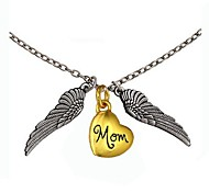 Fashion Personality Valentine Angel Wings Heart Pendant Necklace (More Pattern)