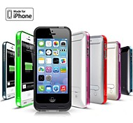 iFans ® MFI 2400mAh Lightning Connector Power Bank Backup Case with Stand for iPhone 5 5S (5V 500mA,Assorted Colors)