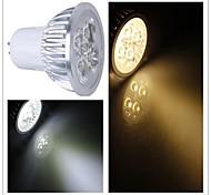 GU5.3(MR16) Точечное LED освещение / PAR лампы MR16 1 Высокомощный LED 350-400 lm Тёплый белый / Холодный белый Регулируемая AC 110-130 V