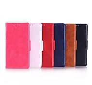 5 Inch Two Folding High Quality Pattern PU Wallet Leather Case for Nokia Lumia 735(Assorted Colors)