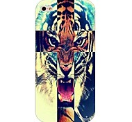 Tiger Pattern Hard Back Case for iPhone 4/4S
