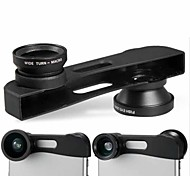Three-in-One Macro Wide-angle & Fish-eye Lens for iPhone 6 (Assorted Color)