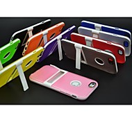 Silicone Popular Brands Back Cover Case for iPhone 6 (Assorted Colors)