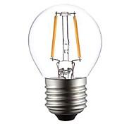 Ampoules Globe Blanc Chaud ON A E26/E27 2 W 2 COB 200 LM 2800-3200K K AC 100-240 V