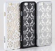 """CDN """"Rococo"""" 3D Embossed Translucent PC Snap In Case for iPhone 6"""