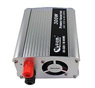 BEAUTY-CAR 300W DC 12V to AC 220V Car Power Inverter (Silver)