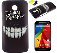 Teeth Pattern PC Hard Case and Phone Holder for Motorola MOTO G2