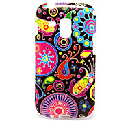 For Samsung Galaxy Case Pattern Case Back Cover Case Flower TPU Samsung Trend Duos