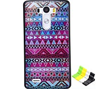 National Wind Pattern PC Hard Case and Phone Holder for LG G3