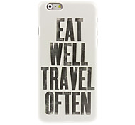 Travel Design Hard Case for iPhone 6