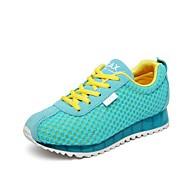 Chao Xi CAX New Female Flat Net Surface Luminous Shoes