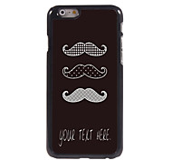 """Personalized Case Mustache Design Metal Case for iPhone 6 (4.7"""")"""