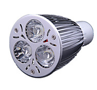9W GU10 LED Spot Lampen MR16 3 High Power LED 700-900 lm Kühles Weiß AC 220-240 V
